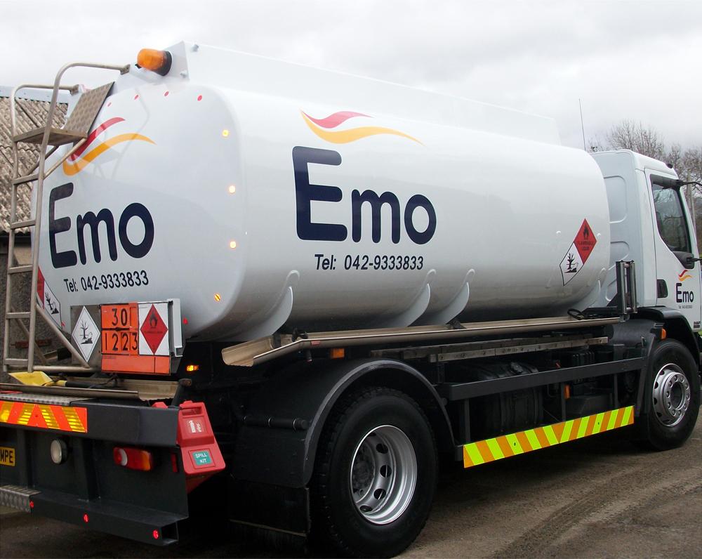 EMO Lorry Signage