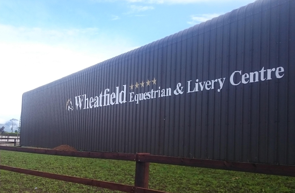 Wheatfield Commercial Corporate Sign
